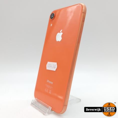 Apple iPhone XR 64 GB Coral Orange - In Nette Staat