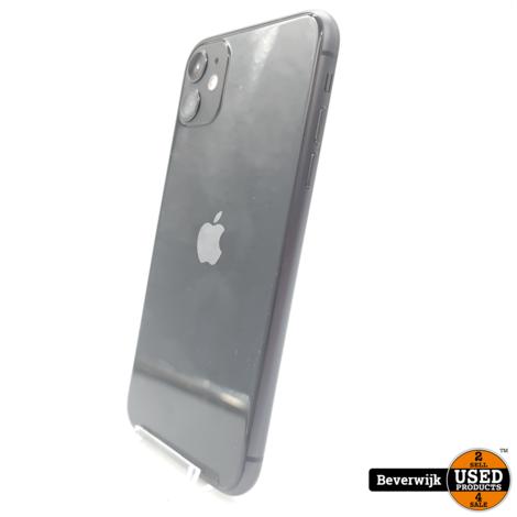 Apple iPhone 11 128GB Zwart - NIEUW 2 Jaar GARANTIE
