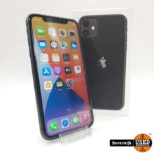 Apple Apple iPhone 11 64 GB Black - In Nette Staat
