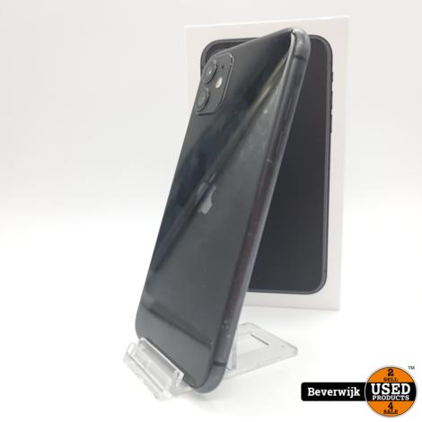 Apple iPhone 11 64 GB Black - In Nette Staat