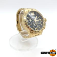 TW Steel CB93 Canteen Bracelet Collection - Horloge - 45 mm - Goudkleurig