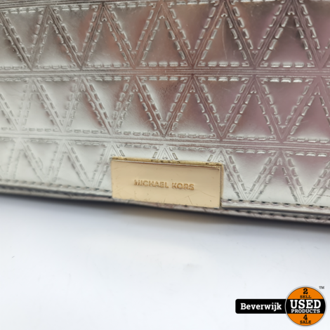 Michael Kors 30H7GJ4C8K Metalic Handtas - In Nette Staat