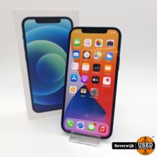 Apple Apple iPhone 12 128GB Blauw - In Nette Staat + Apple Care