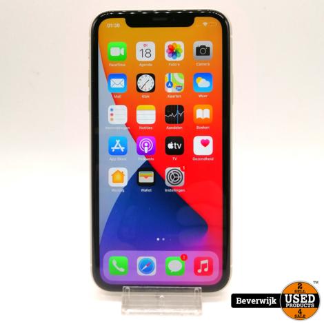 Apple iPhone 11 64 GB Wit - in Nette Staat