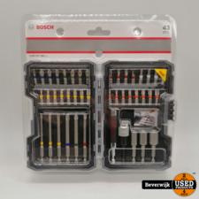 Bosch Bosch Bitset 43 delig L - Nieuw!