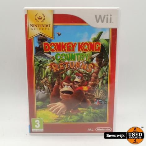 Donkey Kong Returns - Nintendo Wii