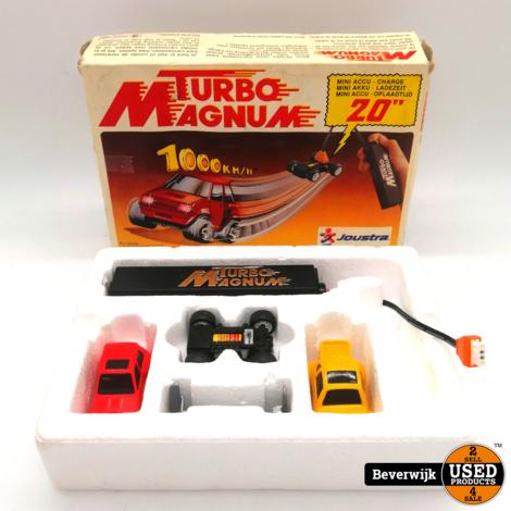 Joustra Turbo Magnum Retro Speelgoed - In Nette Staat