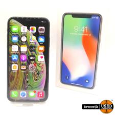 Apple Apple iPhone X 256GB Space Gray - Incl Doos
