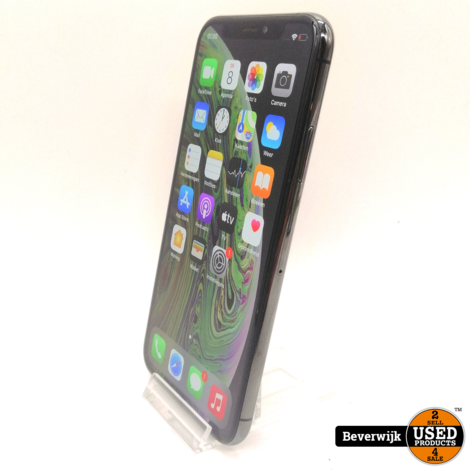 Apple iPhone X 256GB Space Gray - Incl Doos