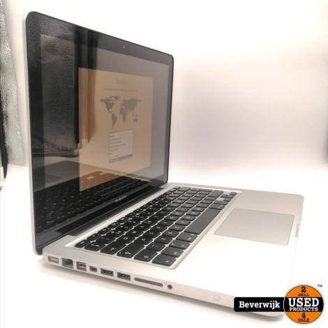 Apple Macbook Pro 2012 13 Inch 500HDD 4GB - In Goede Staat