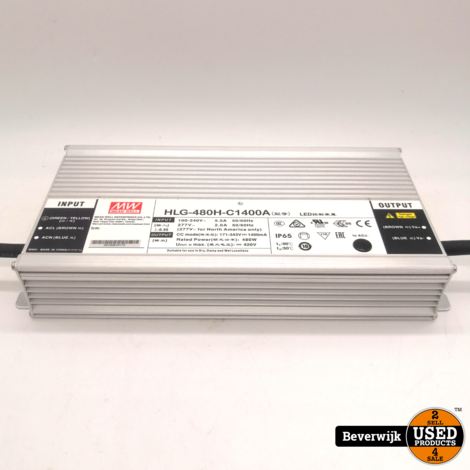 Mean Well LED-driver DC 700 - Nieuw!