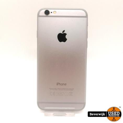iPhone 6 16 GB Zwart in Prima Staat