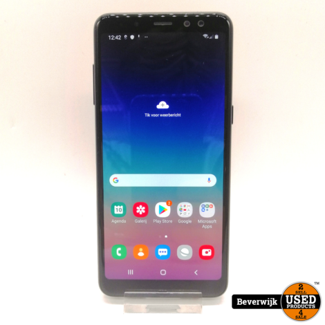 Samsung Galaxy A8 (2018) 32 GB Zwart - Zo Goed Als Nieuw!