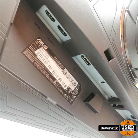 TOP DEAL! Asus XG258Q 24.5 inch Gaming Monitor Donkergrijs, 2x HDMI, DisplayPort, 240 Hz