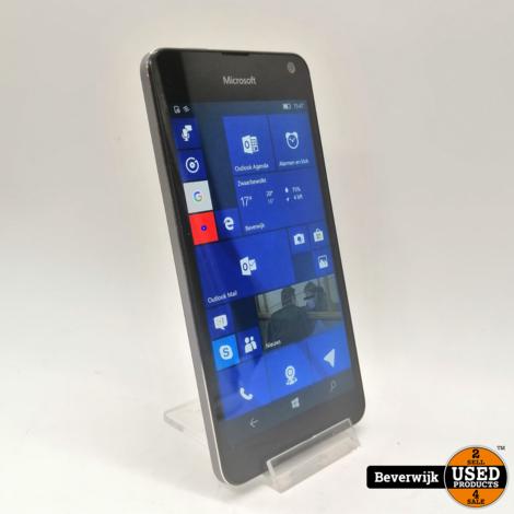 Nokia Lumia 650 16GB Zwart - In Goede Staat