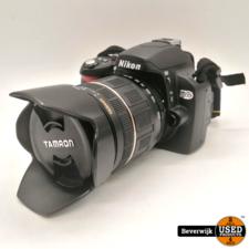 Nikon Nikon D60 Digitale Camera - Tamron 18-200mm - In Goede Staat