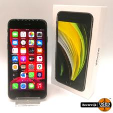 Apple Apple iPhone SE 2020 64GB Black - Apple Care Garantie - Nieuwstaat
