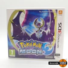 Nintendo Pokemon Moon Nintendo 3DS Game - In Nette Staat
