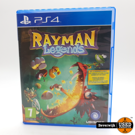 RayMan Legends PS4 Game - In Nette Staat