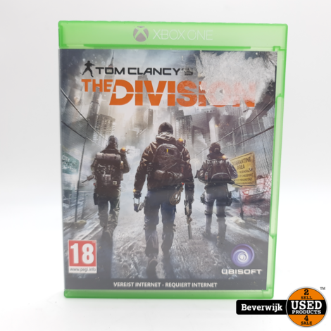 Tom Clancy's The Division Xbox One Game - In Nette Staat