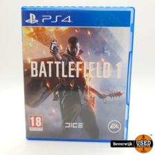 Playstation 4 Battlefield 1 - PS4 Game - In Nette Staat