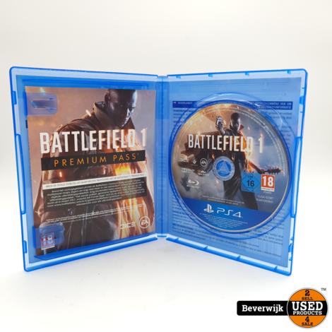 Battlefield 1 - PS4 Game - In Nette Staat