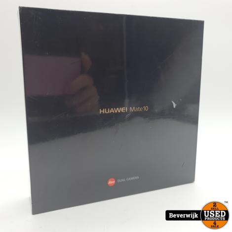 Huawei Mate 10 64GB Black - Nieuw In Seal