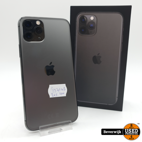 Apple iPhone 11 Pro 64GB Accu 84 - In Goede Staat