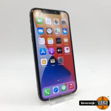 Apple Apple iPhone X 64GB Zwart Accu 82% - In Nette Staat