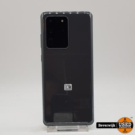 Samsung Galaxy S20 Ultra 128 GB 5G Zwart in Nette Staat