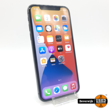 Apple Apple iPhone X 64GB Space Gray - In Goede Staat