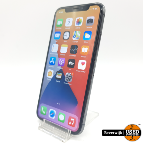 Apple iPhone X 64GB Space Gray - In Goede Staat
