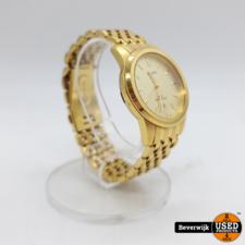 Pulsar VJ32-X060 - Gouden Heren Horloge - In Nette Staat