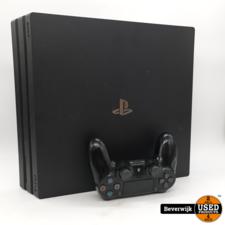 Sony Sony Playstation 4 Pro 1TB - Zwart - In Goede Staat