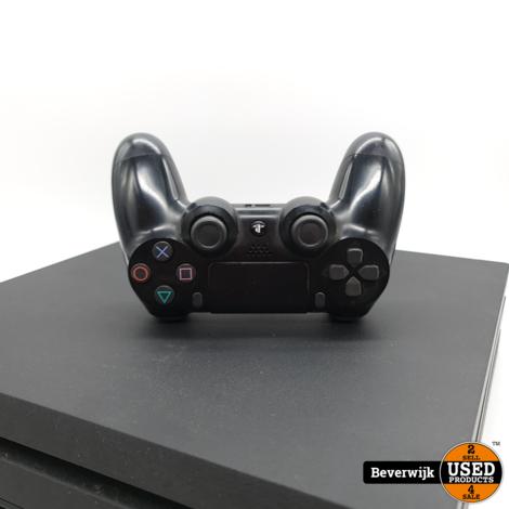 Sony Playstation 4 Pro 1TB - Zwart - In Goede Staat