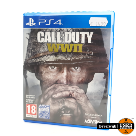 Call of Duty: WW2 - PS4 Game