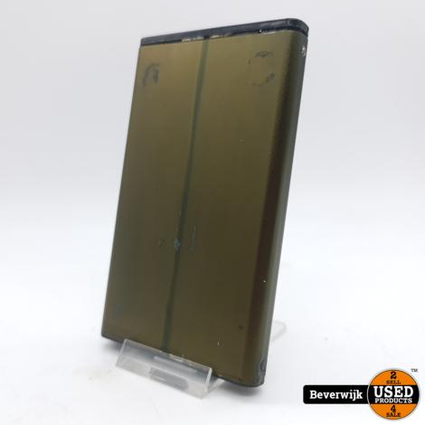 Solid 120GB externe 2.5'' HDD Groen - In Goede Staat