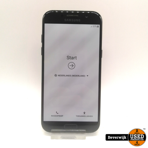 Samsung Galaxy A5 2017 32 GB Zwart in Goede Staat