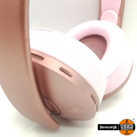 Sony PlayStation 4 Rose Gold Wireless Headset - ZGAN