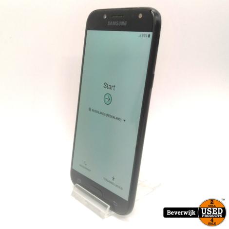 Samsung Galaxy J5 2017 16 GB Zwart in Goede Staat