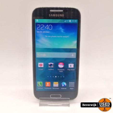 Samsung Galaxy S4 Mini 16 GB Zwart - In Goede Staat