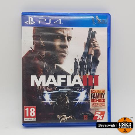 Mafia 3 - PS4 Game