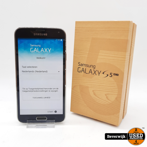 Samsung Galaxy S5 16 GB Zwart - in Prima Staat