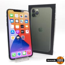 Apple Apple iPhone 11 Pro Max 64 GB Groen Nieuw Staat in Doos
