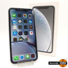 Apple Apple iPhone XR Wit 64GB - In Goede Staat