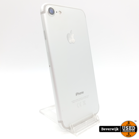 Apple iPhone 7 32GB Silver - In Nette Staat