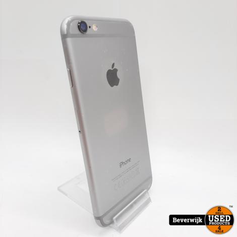 Apple iPhone 6 64 GB Space Grey - Zo Goed Als Nieuw!