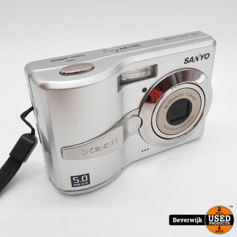 Sanyo Xacti VPC-S50EX Digitale Camera - Zo Goed Als Nieuw!