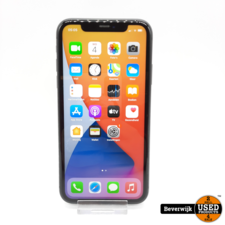 Apple Apple iPhone 11 64 GB Zwart - Zo Goed Als Nieuw!