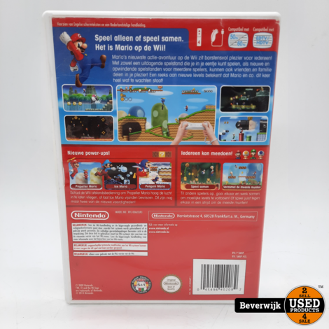 Super Mario Bross - Nintendo Wii Game